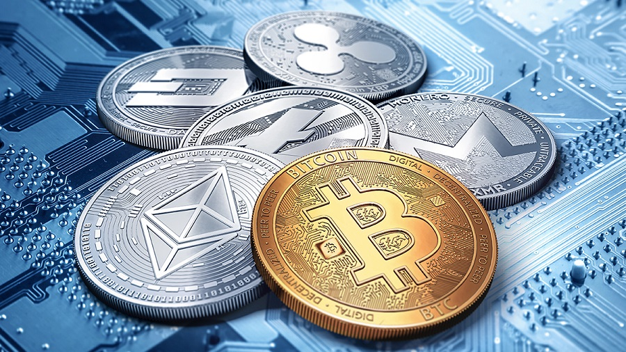 Cryptocurrency trade to online